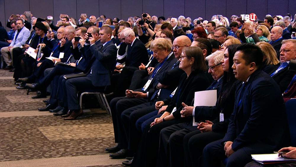 Участники Всемирного конгресса соотечественников
