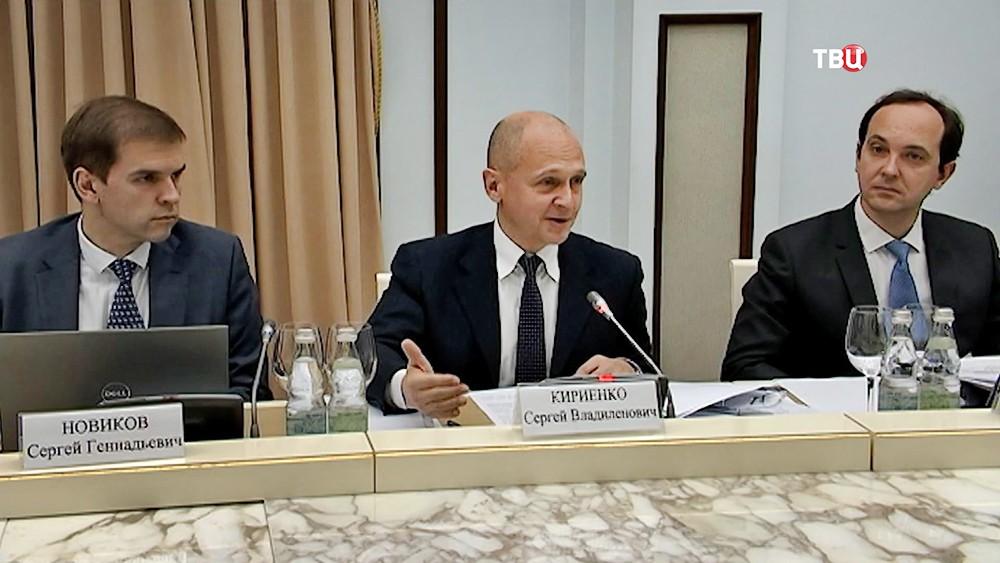 Сергей Кириенко на заседании