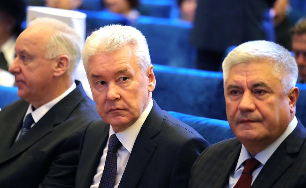 Сергей Собянин и Владимир Колокольцев