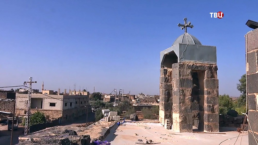 Храм Георгия Победоносца в Сирии