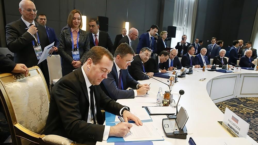 Заседание Совета глав правительств государств – участников СНГ