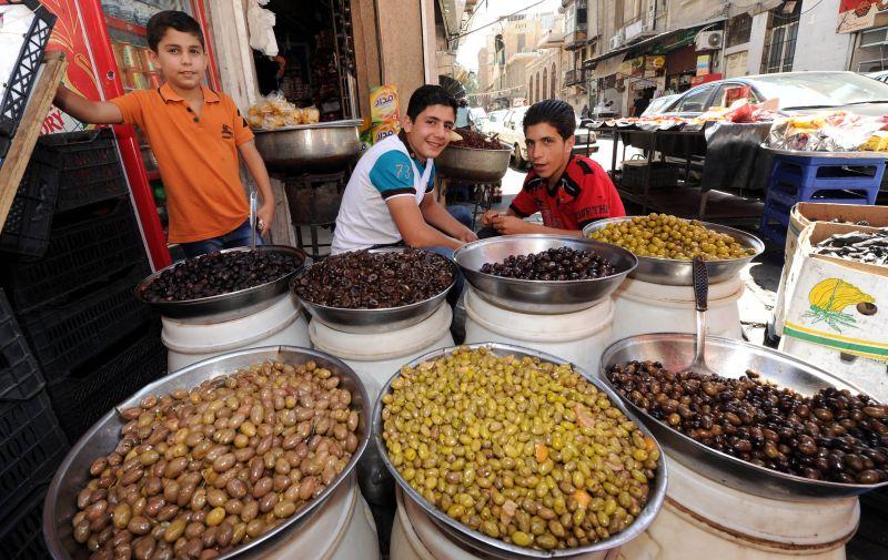 Оливки в Сирии