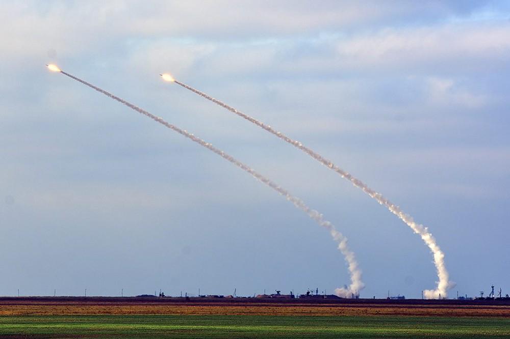 Ракетные учения на Украине