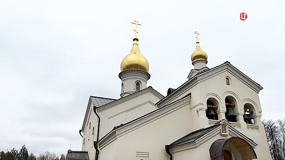 Храм в честь Казанской иконы Божьей матери в Солнцеве