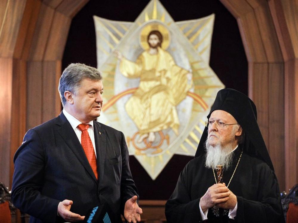 Пётр Порошенко и Вселенский патриарх Варфоломей