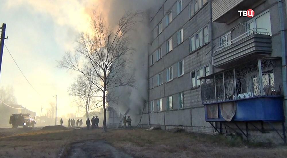 Взрыв газа в ЕАО