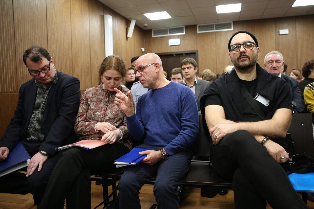 """Заседание по существу уголовного дела """"Седьмой студии"""" в Мещанском районном суде"""