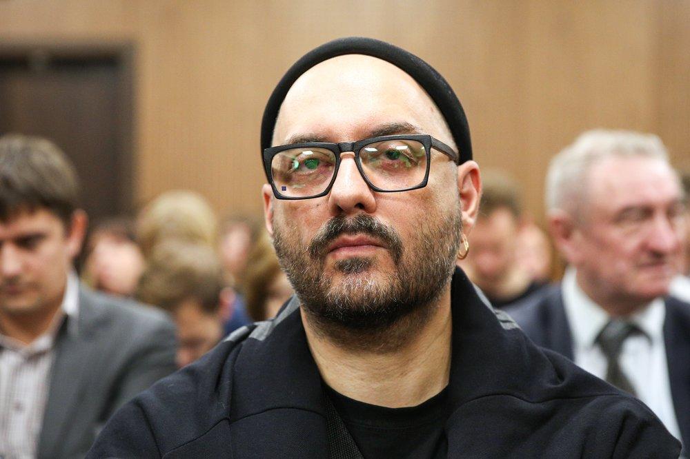 Актер Кирилл Серебренников в зале суда