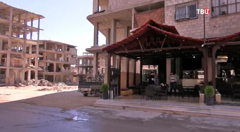 Ресторан в Сирии