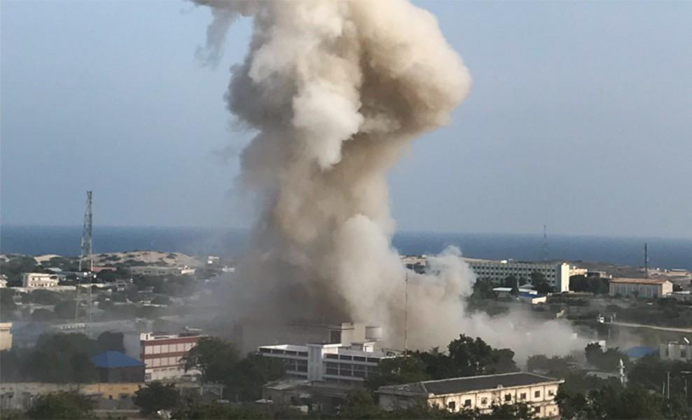 Последствия взрывов в Могадишо, Сомали
