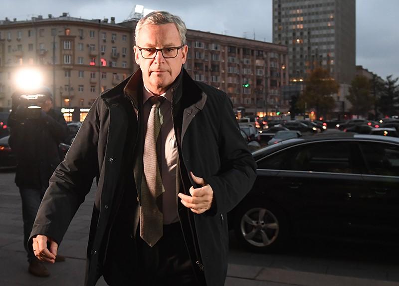 Посол Австрии в России Йоханнес Айгнер
