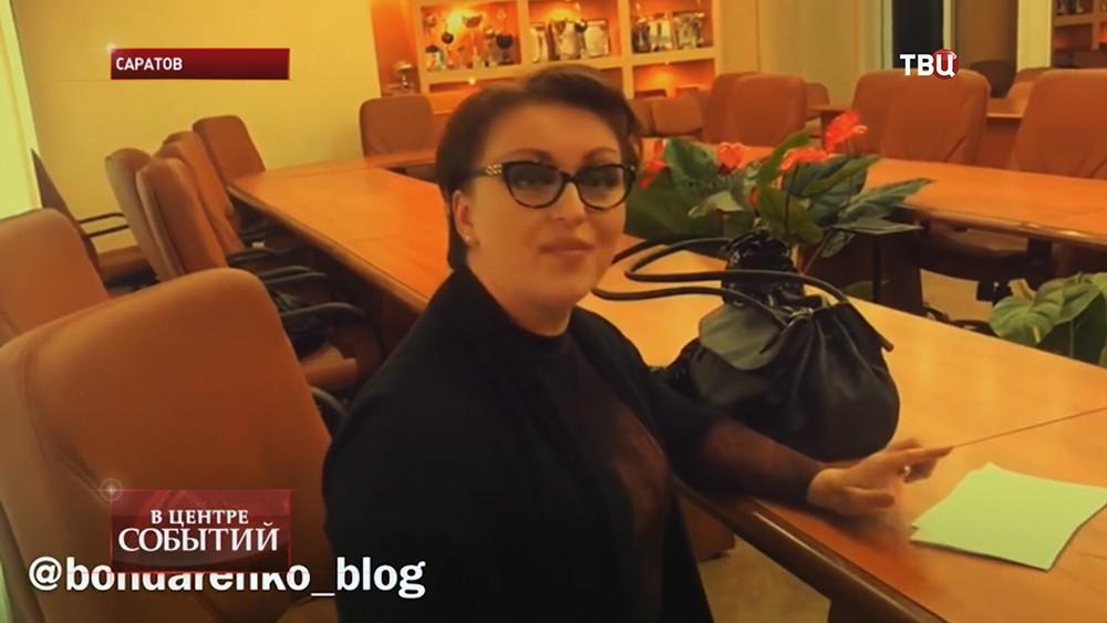 Бывший министр труда Саратовской области Наталья Соколова