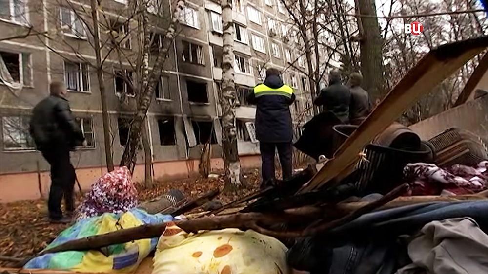 Взрыв газа в жилом доме в Москве