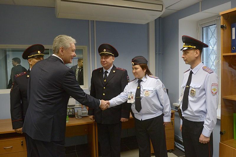 Сергей Собянин поздравил сотрудников МВД с профессиональным праздником