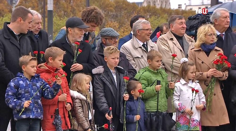 Церемония к 100-летию со дня окончания Первой мировой войны