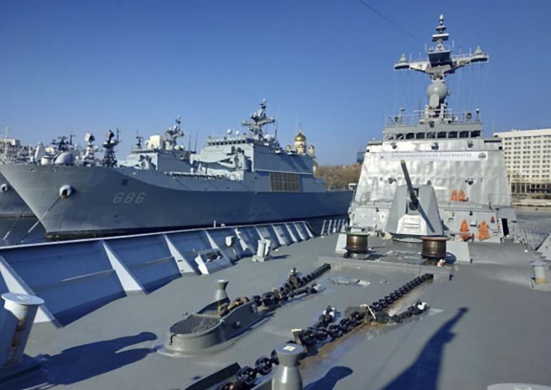 Отряд боевых кораблей Южной Кореи