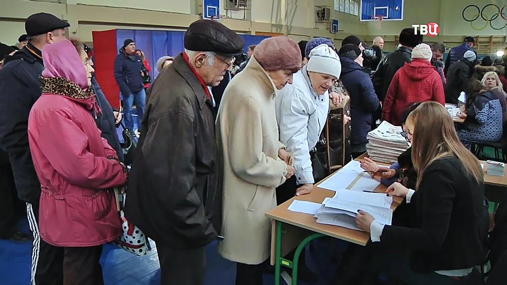Выборы в Донбассе