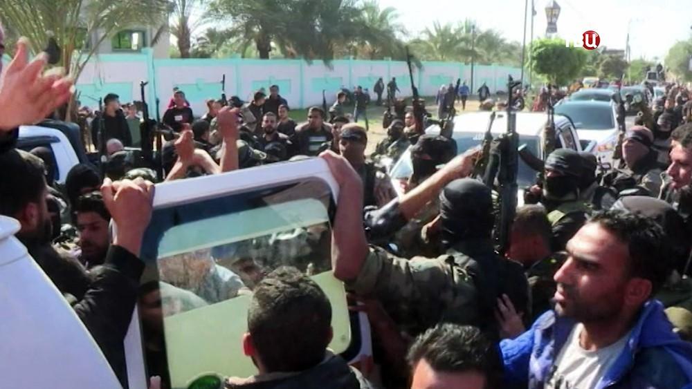 Протесты в Палестине