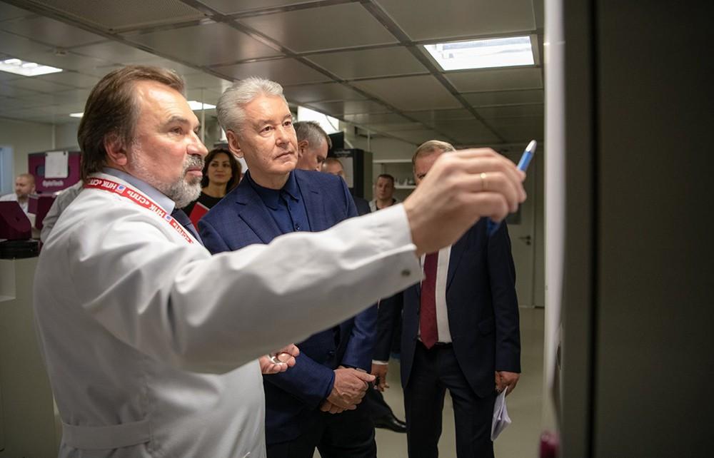 Сергей Собянин посетил технопарк