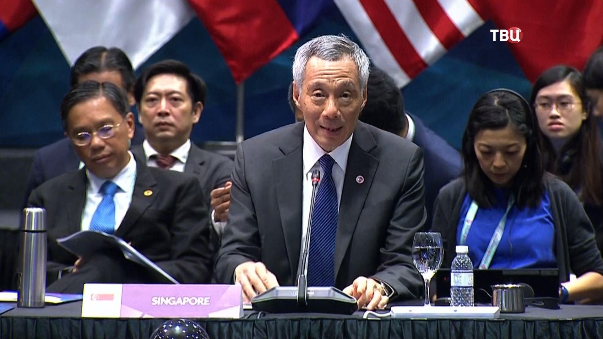 Премьер-министр Республики Сингапур Ли Сянь Лун