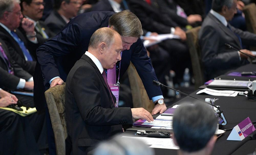 Владимир Путин на Восточноазиатском саммите