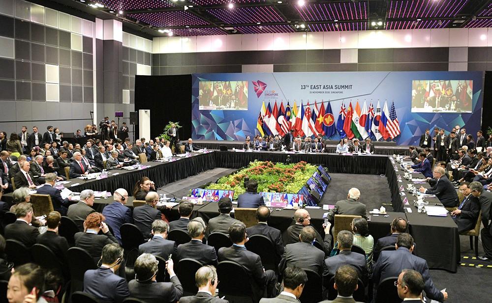 Участники Восточноазиатского саммита