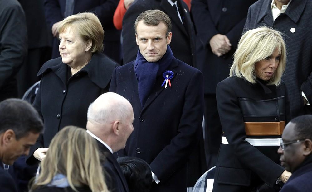 Президент Французской Республики Эммануэль Макрон