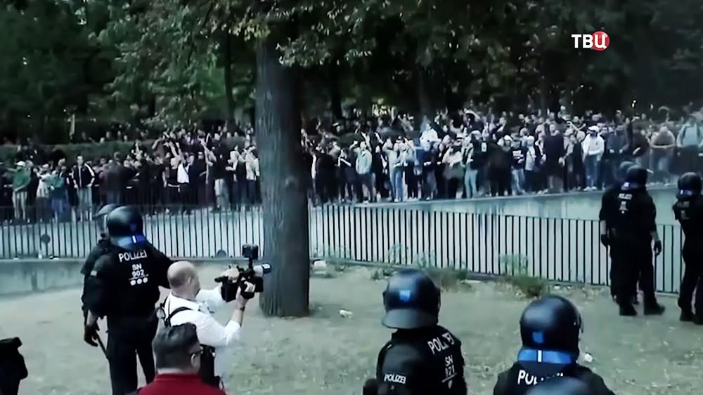 Митинг в Хемнице, Германия