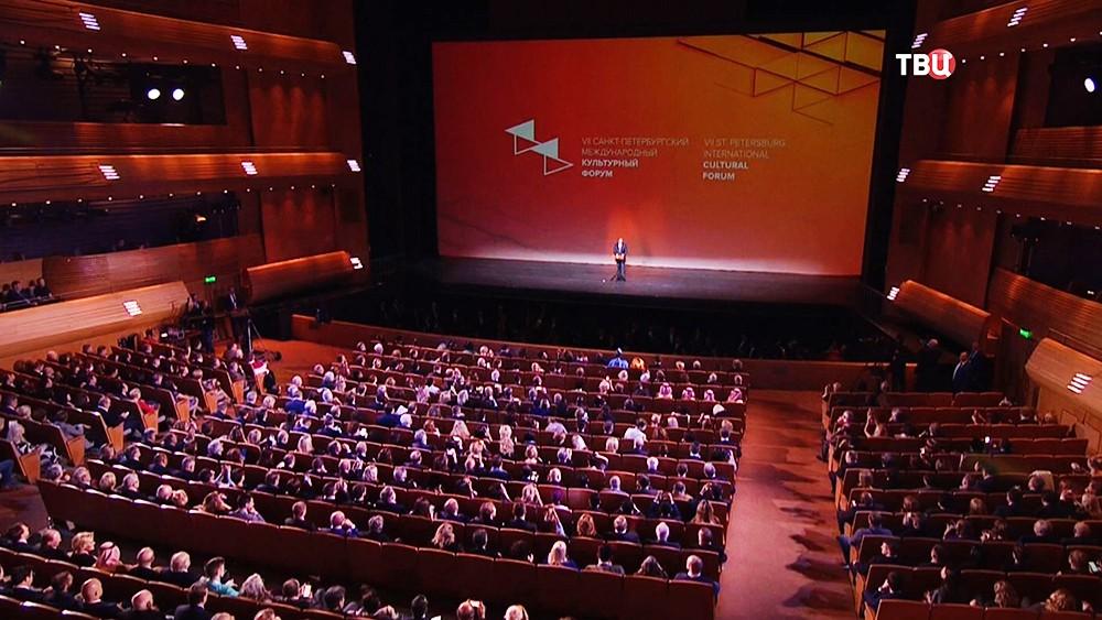 Владимир Путин выступил на гала-открытии Санкт-Петербургского международного культурного форума