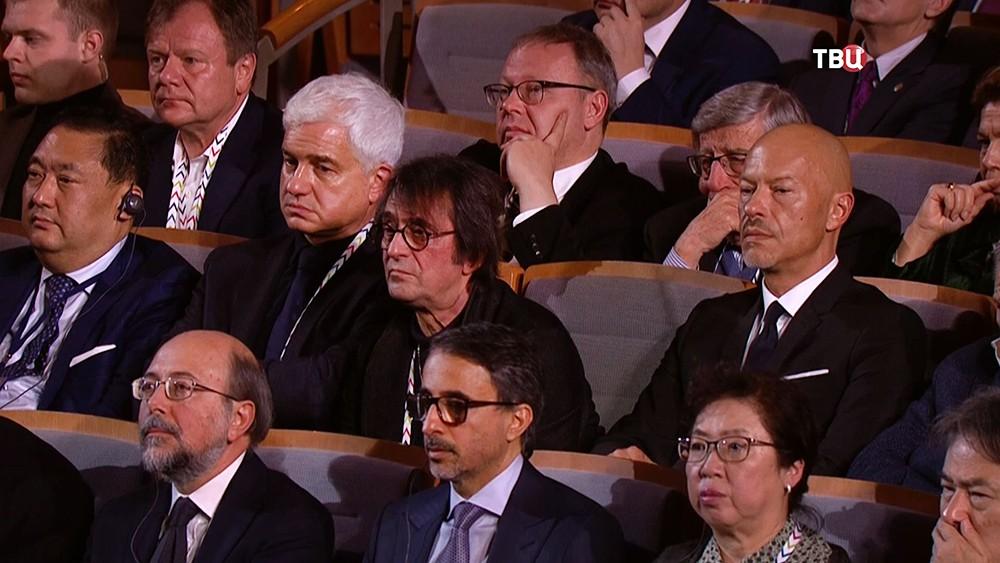 Участники Санкт-Петербургского международного культурного форума