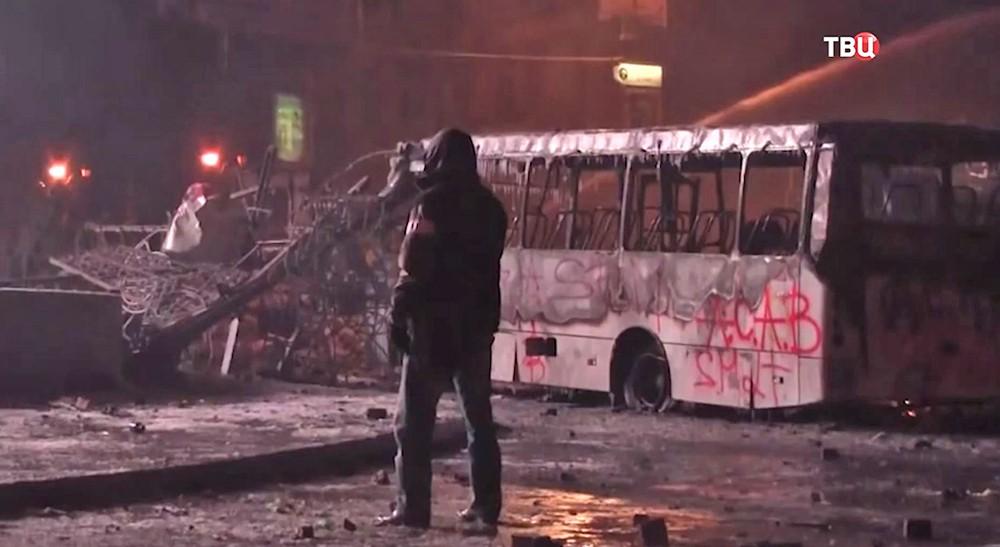 """Смотрите в 22:30 специальный репортаж """"Украина. Пятилетка майдана"""""""