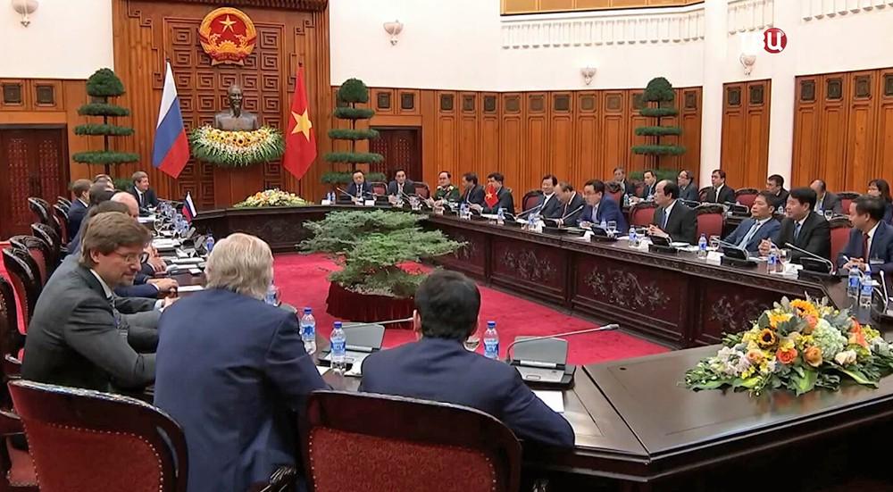 Российско-вьетнамские переговоры в Ханое