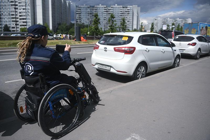 Инспектор парковочного пространства