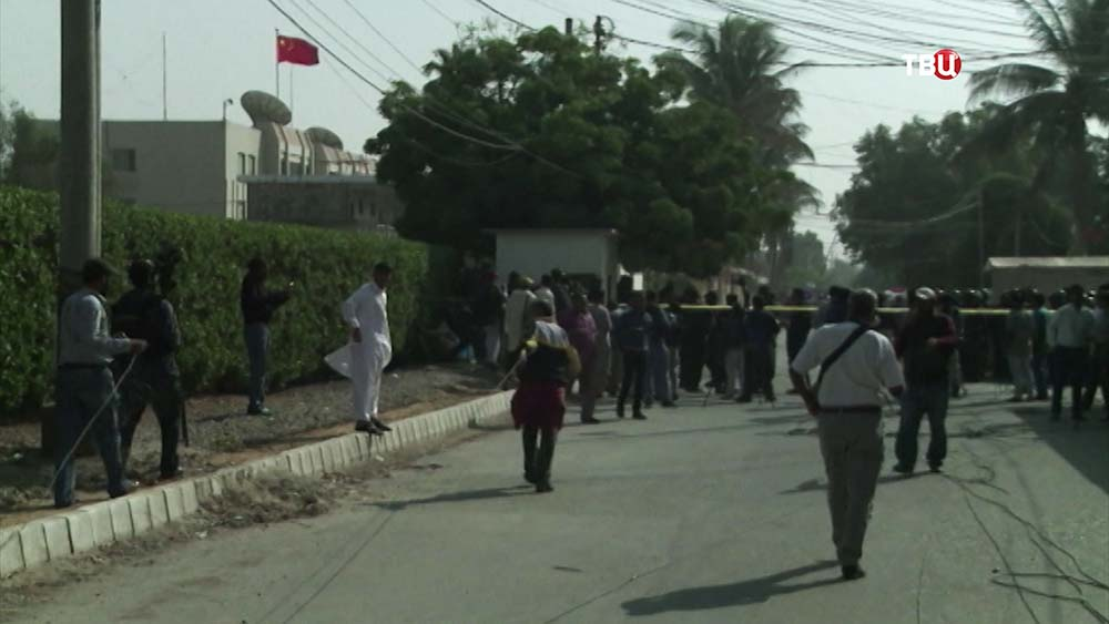Нападение на генконсульство Китая в Пакистане