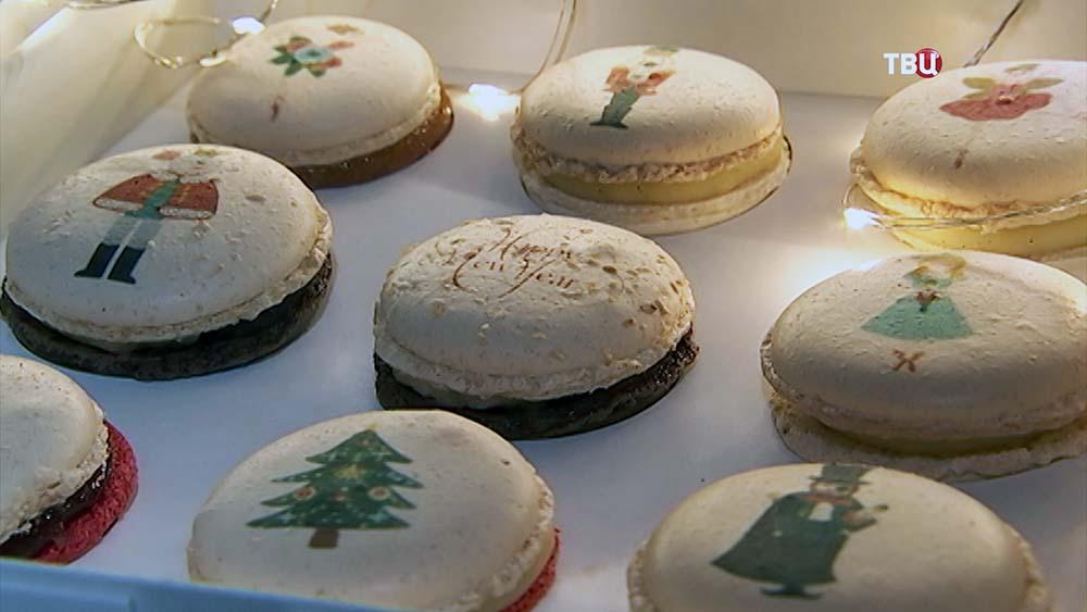 Французская рождественская ярмарка в музее Москвы
