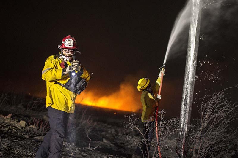Пожарные США