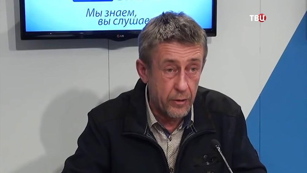 Журналист Юрий Алексеев