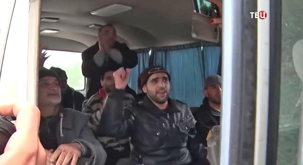 Обмен пленными в Сирии