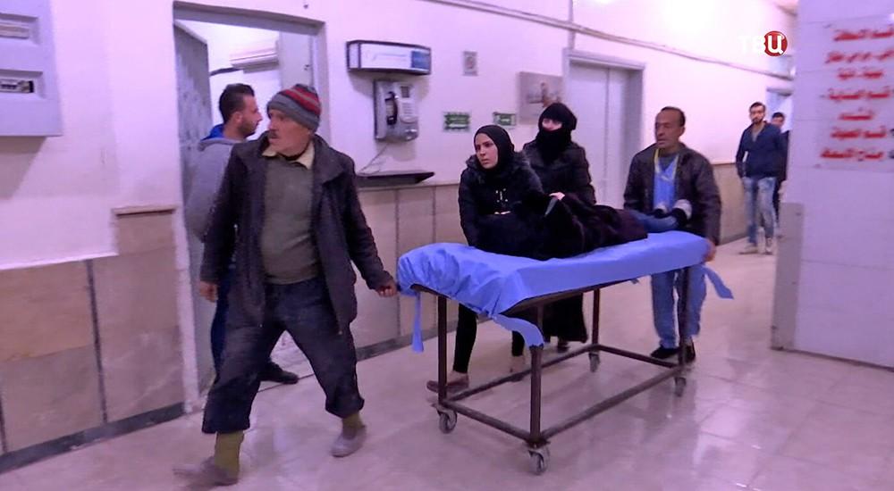Химатака боевиков в Сирии