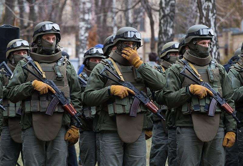 Солдаты спецподразделения ВСУ