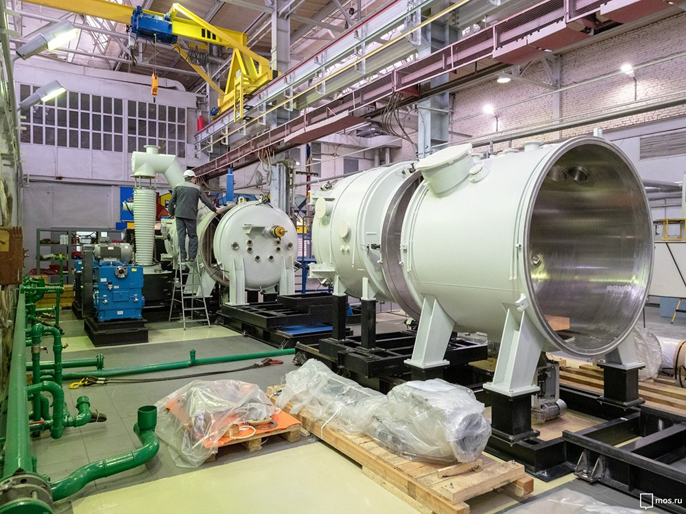 Посещение Всероссийского научно-исследовательского института авиационных материалов