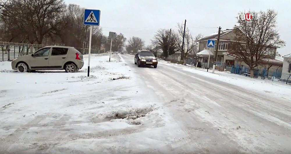 Заморозки на Юге России