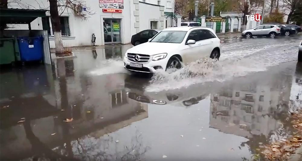 Последствие ливней на Юге России