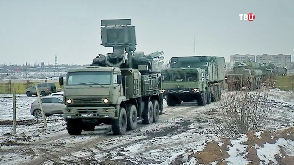 Машины сопровождения ЗРК С-400