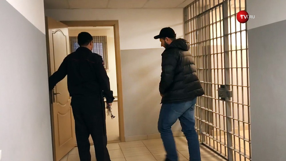 Задержанный участник банды Шамиля Басаева