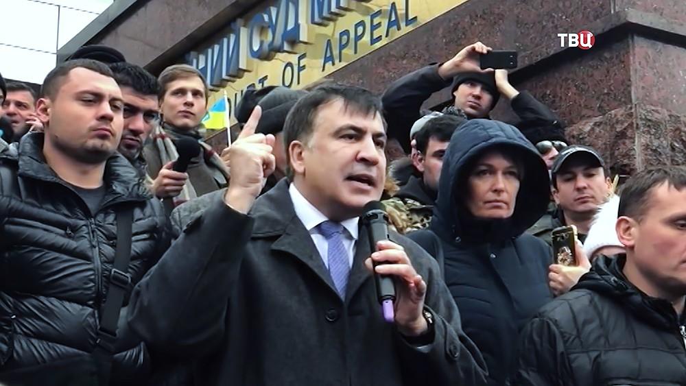 Михаил Саакашвили на Украине