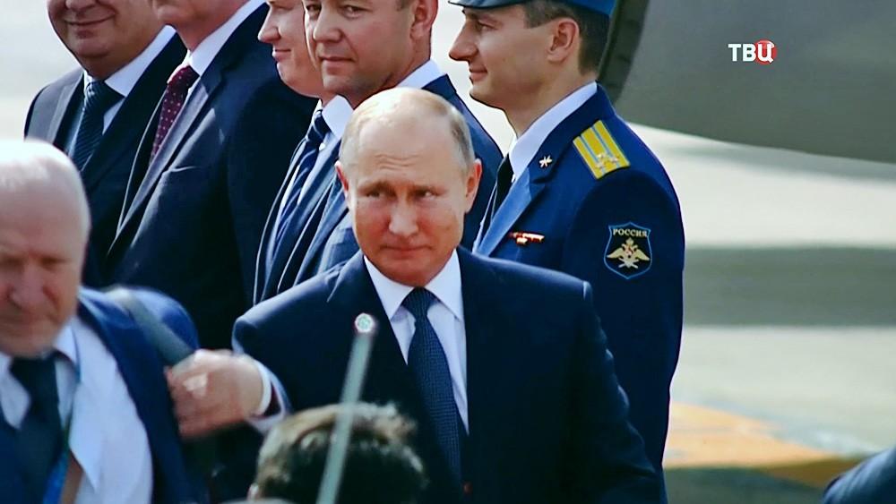 Владимир Путин прибыл в Аргентину на саммит G20