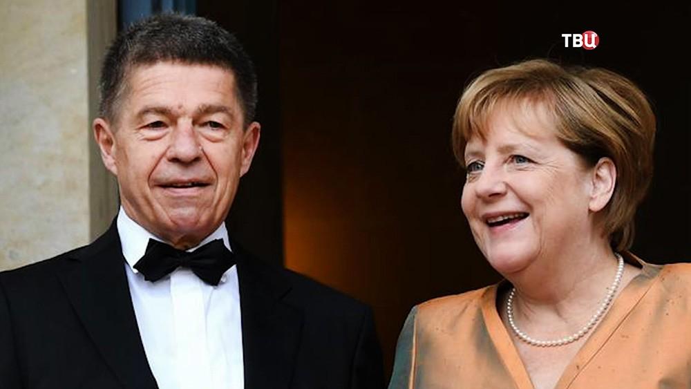 Ангела Меркель с мужем Йоахимом Зауером