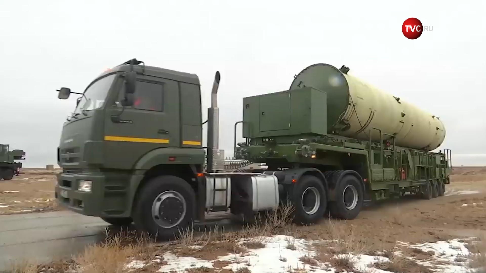 Подготовка к пуску ракеты системы противоракетной обороны (ПРО)
