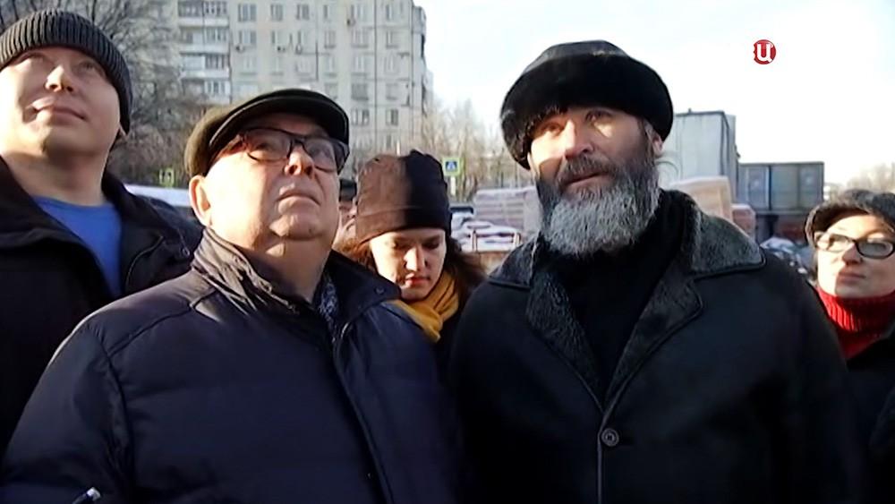 Владимир Ресин проинспектировал ход строительства храма